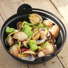 辣炒肥蛤的做法
