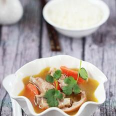 排骨酥汤的做法