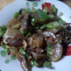 青椒猪头肉的做法