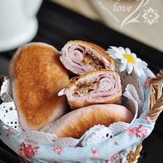 紫薯培根煎饼的做法