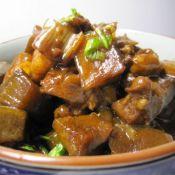 红烧羊肉炖青萝卜