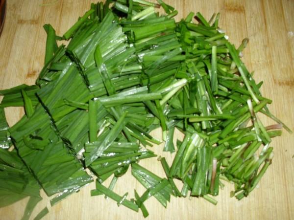 虾皮炒韭菜的做法