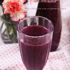 香浓紫薯汁的做法