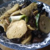 菌菇炒素鸡的做法