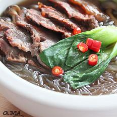 银丝牛肉煲的做法