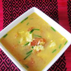 川味版番茄鸡蛋汤