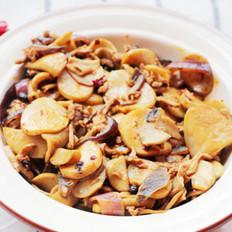 肉絲杏鮑菇的做法