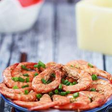 无油白胡椒虾的做法