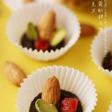 杏仁软巧克力的做法