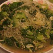 虾皮粉丝小白菜的做法