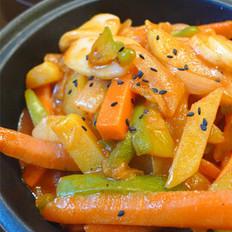 韩式辣酱炒年糕