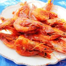 番茄大蝦的做法