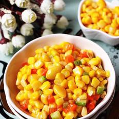 白果松仁玉米的做法