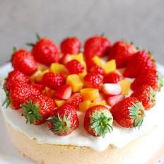 玫瑰芝士蛋糕的做法