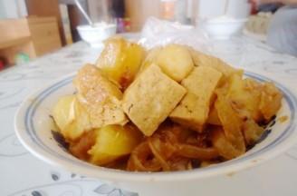 五香豆腐鱼的做法
