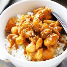 沙茶白玉菇烩鸡丁的做法
