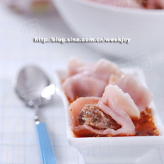 猪肉大葱水饺的做法