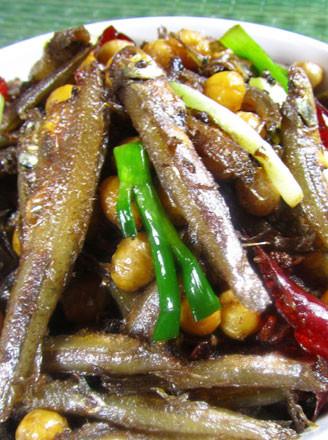 黄豆小鱼干的做法