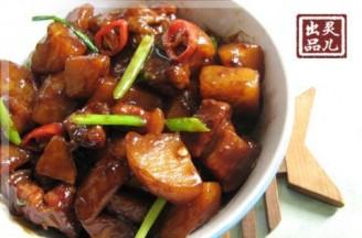 做法面粉焖五花肉的土豆辛市陕富蚝油v做法图片