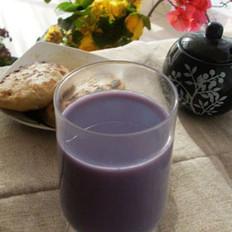 紫薯山药豆浆的做法