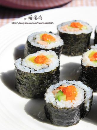 金枪鱼寿司的做法【步骤图】_菜谱_美食杰
