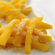 奶香薯条的做法
