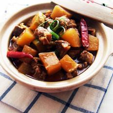 香辣牛肉炖萝卜