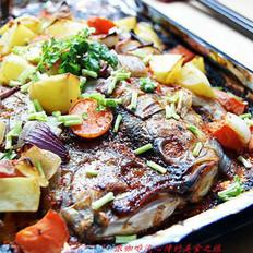 什錦烤魚的做法