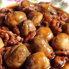 蚝油草菇炒牛肉