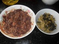咸菜炒猪肝的做法
