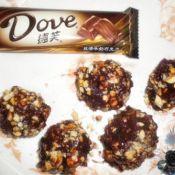 紫薯巧克力花生球的做法
