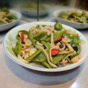 鱿鱼炒青椒