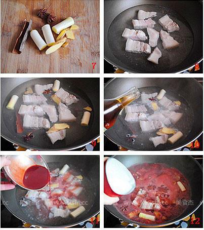 腐乳肉的家常做法视频图片