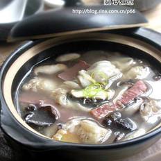 砂锅鱼鳔的做法