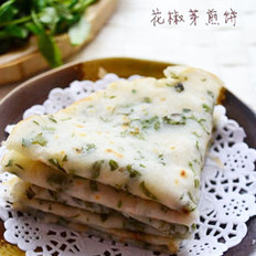 花椒芽煎餅的做法