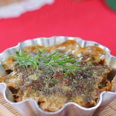 茴香羊肉饼的做法