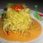 凉拌莴苣丝的做法