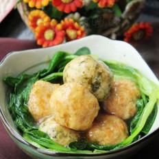 双色蔬菜鸡肉圆的做法