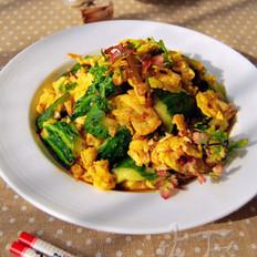 鸡蛋拌黄瓜的做法