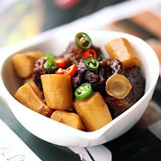 沙姜牛肉的做法