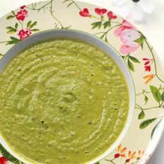 青菜奶油蘑菇浓汤的做法