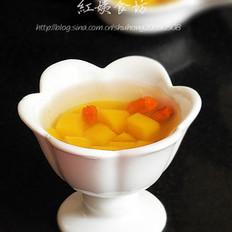 芒果冰糖饮的做法