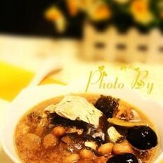 桂圆肉花生鱼头汤