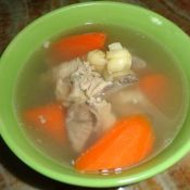 猪脊骨胡萝卜汤