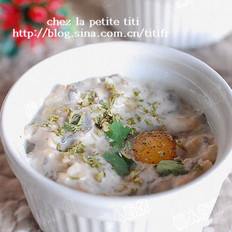 法式小盅蛋