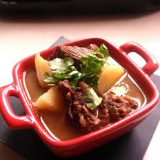 清炖土豆牛肉煲的做法