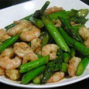 蚝油芦笋虾仁