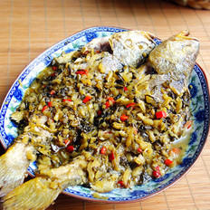 雪菜黄花鱼的做法