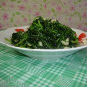 蒜香金花菜的做法