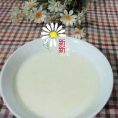 牛奶蛋花燕麦粥